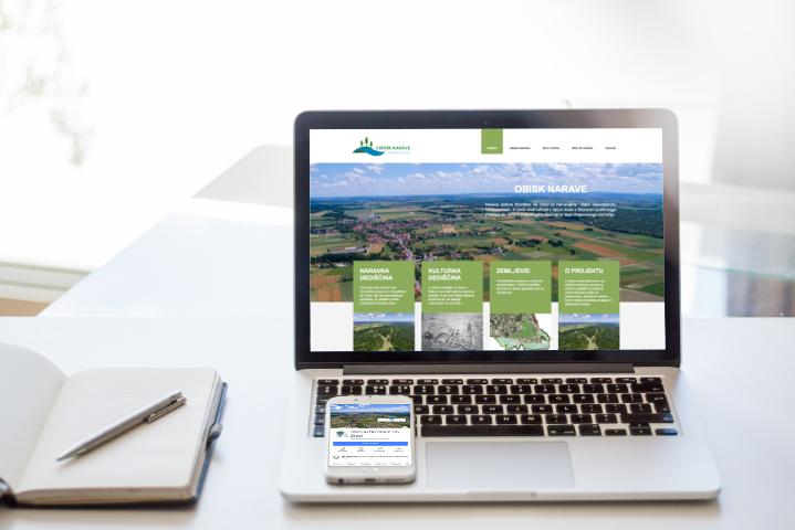 Spletna stran Center narave Središče ob Dravi