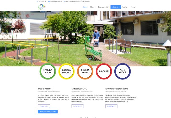 Spletna stran DSO Ljutomer