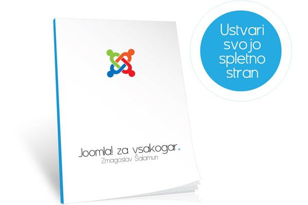 Oblikovanje in založništvo priročnika Joomla! za vsakogar