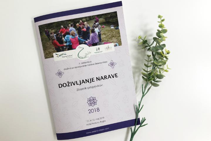 Zbornik za Društvo za ohranjanje narave Zelena steza